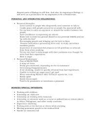Resume Strengths And Weaknesses Examples Talktomartyb Gorgeous Strengths For A Resume
