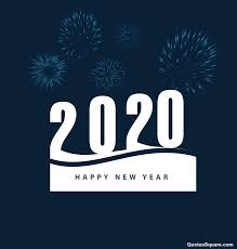 New Year 2020 White Blue Wallpaper Image Hd Free Happy New