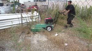 sold brush hog cutter walk behind mower weed cutter self propelled 24 honda gas for 1300 you