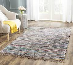 spacious 10 x rug on com safavieh rag collection rar121e hand woven rust and