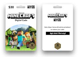 designed a new gift card for minecraft what do you guys think