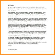 Doctors Note Requirement 12 13 Letter From Doctor To Employer Loginnelkriver Com