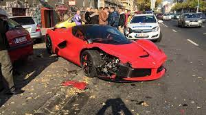 Footage Emerges With Laferrari Crash In Budapest Driver S Lack Of Skills To Blame Video