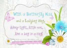 Sleeping Baby Quotes Best Rustic Sleeping Baby Quote Design Ladybug Hug Butterflies