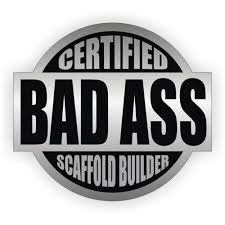 hat baldness picture more detailed picture about pcs certified 3pcs certified bad ass scaffold builder hard hat decal helmet sticker label safety