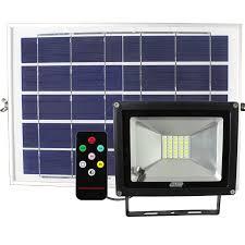 20W <b>Solar Power LED</b> Floodlight - Major Tech
