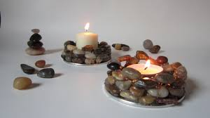 Diy Candle Holders Create Earthy Stone Candle Holders Diy Guidecentral Youtube