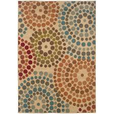 home decorators collection spiral mosaic tan 10 ft x 13 ft area rug 0582860530 the home depot