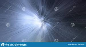 Light Speed Travel Time Warp Light Speed Time Travel Concept Background Stock