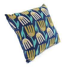 <b>Чехол для подушки</b> Lazy flower <b>темно</b>-<b>синего</b> цвета — купить по ...