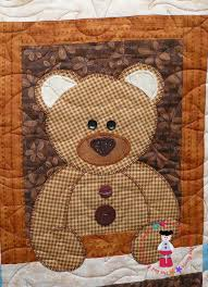 51 best Teddy Bear Quilts images on Pinterest | Toddler quilt ... & ourson bear one by the Red Boot Quilt Co. Adamdwight.com