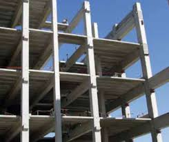 most hotels are constructued using precast concrete framing
