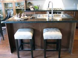 Fine Kitchen Island Ideas With Sink And Stools Pinterest For Perfect Design