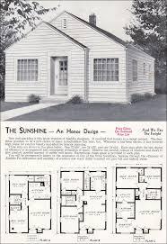 sweet 1940 aladdin sunshine pre wwii ultra minimal style home