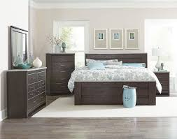 Mansion Bedroom Furniture King Mansion Bed With Faux Concrete Accents By Standard Furniture