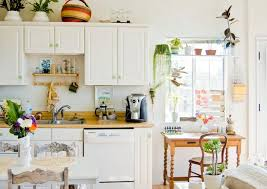 Kitchen Ideas Cozy Kitchen Country Decor Using Small White Country