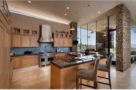 dramatic l shaped kitchen