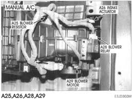 heater blower not working on my hyundai santa fe, vin Blower Motor Wiring Diagram Manual ground each wire at the blower resistor and you should be able to run the blower at each speed if the blower only runs when you ground the yellow wire Multi Speed Blower Motor Wiring