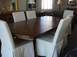 Marvelous Modern Style Mor Furniture Portland Design Ideas Equipped with Wooden Dining Table Set with White Chairs
