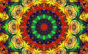 2400x1500 trippy background of hippie style