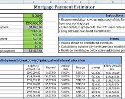 Paying Extra On Mortgage Principal Calculator Mortgage Calculator Etsy