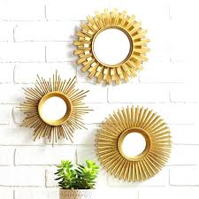 Mirror grouping on wall Gold Framed Mirror Grouping On Wall New Sunburst Gold Set Of Unique Starburst With Round Mirrors Wall Mirrors Apxnicon Mirror Grouping On Wall Decor Mirrors Awesome Top Sets Decorative