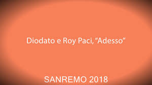 "Diodato e Roy Paci, ""Adesso"" pronounce - YouTube"