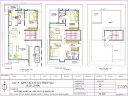 by Feet bhk BHK House Map   Photos   DecorChamp    x  South Facing Mixed