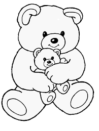 Small Picture Teddy Bear Coloring Pages fablesfromthefriendscom