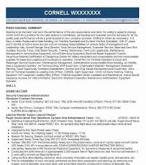 Security Clearance Resumes Security Clearance Resume Example Ci Current Fayetteville