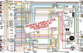 1973 chevy nova color wiring diagram console gauges classiccarwiring sample color wiring diagram loading zoom