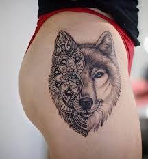 Wolf Tattoo Hodnota A Zajímavé Nápady 100 Pro Muže A Dívky