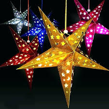 paper star lanterns diy paper star lamp lanterns