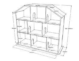 <b>Кукольный домик</b> своими руками из фанеры схема с размерами и