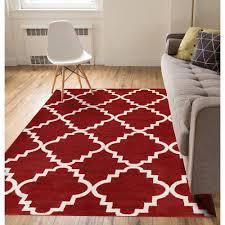 well woven sydney lulu s lattice trellis terracotta 8 ft x 11 ft modern area rug 21097 the home depot