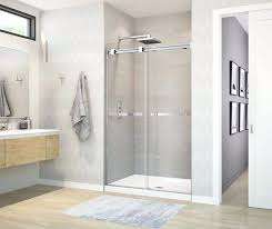 showers maax frameless shower doors aura soft close door bargain pertaining to in remodel