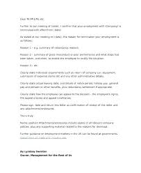 Termination Of Employment Letter Template Domestic Worker Retrenchment Letter Template South Africa Of