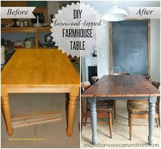 refinish wood kitchen table top for home design great 60 unique diy barnwood table
