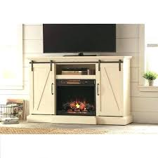 cherry wood electric fireplace stand place finish