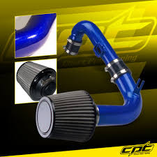 11-15 Chevy Cruze Turbo 1.4L 4cyl Blue Cold Air Intake + Stainless ...