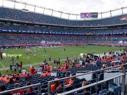Sports Authority Field Mile High Stadium Seating Chart Broncos Stadium At Mile High Section 519 Seat Views Seatgeek