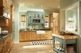 kitchen color ideas with wood cabinets.  Cabinets Fair New Kitchen Color Ideas With Light Wood Cabinets Design On Paint  Decorating At Colors Glamorous  For F