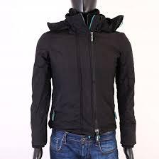 Superdry Jacket Size Chart Details About R Superdry Windcheater Mens Jacket Black Size S