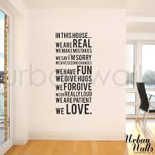 Small Picture Vinyl Wall Sticker Decal In this house we do