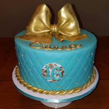 Teal Cakes Photos
