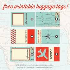 Printable Luggage Tags Free Printable Luggage Tags Organization Binder Tags Luggage