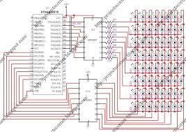 auto gauge wiring diagram auto wiring diagrams ega matrix display circuit