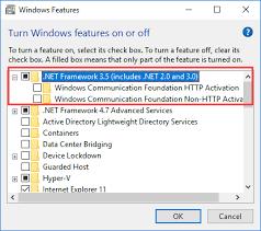 install net framework 2 0 3 0 and 3 5