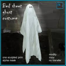 ghost costumes sheet second life marketplace bed sheet halloween ghost costume