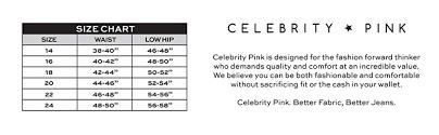 Pink Size Chart Size Chart New Sense Of Style